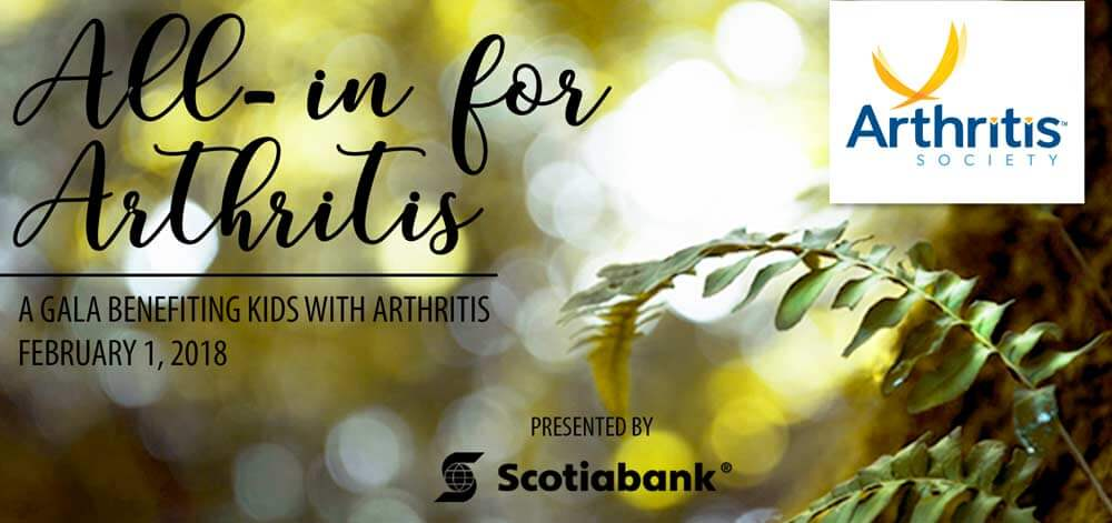 All-in for arthritis gala