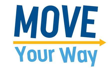 Logo of the fundraising event Move Your Way