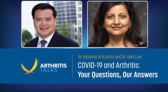 COVID-19 and Arthritis: Your Questions, Our Answers on Apr