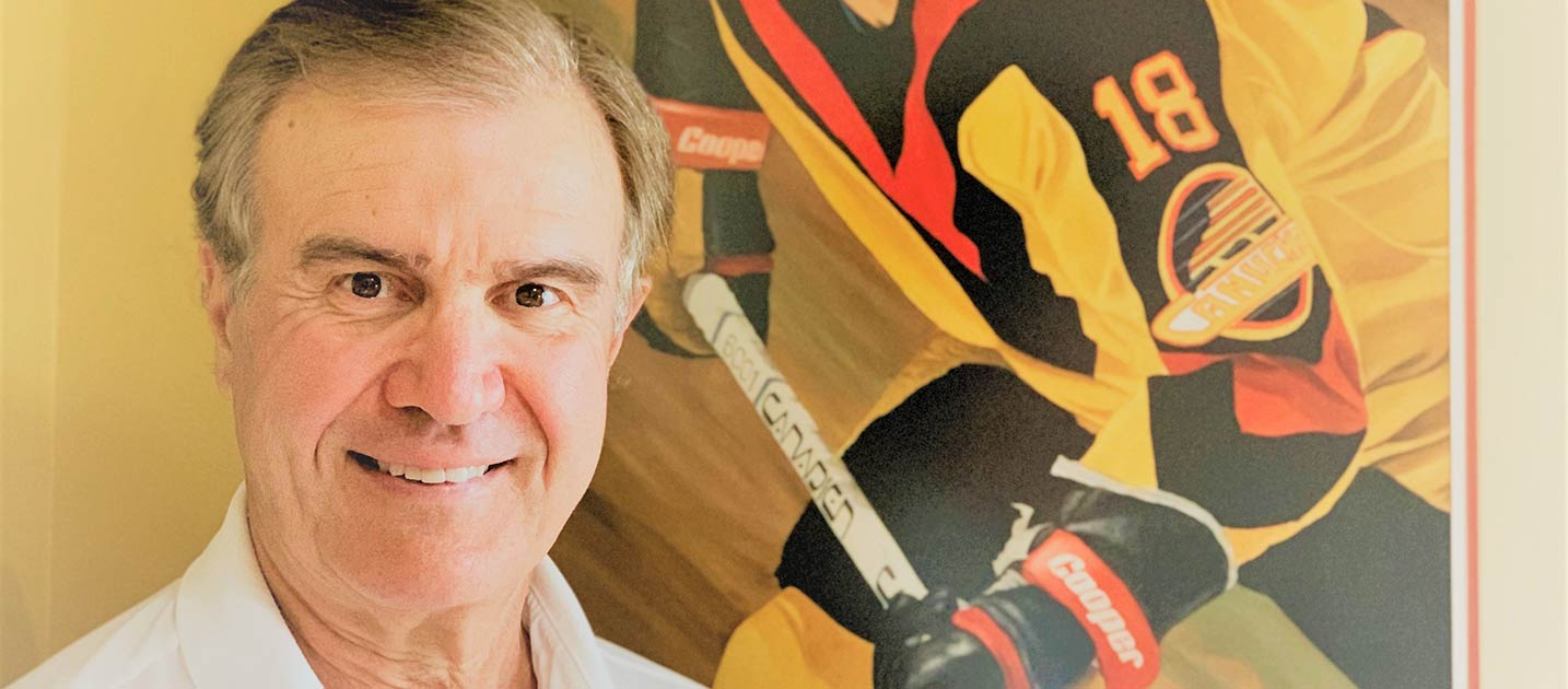 This retired NHL player wants to raise awareness of arthritis.