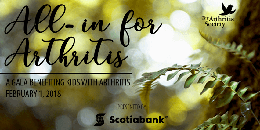 All in for arthritis gala