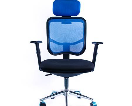 Photography of an ergonomic chair